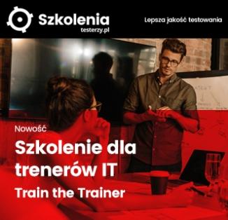 Szkolenie dla trenerów IT