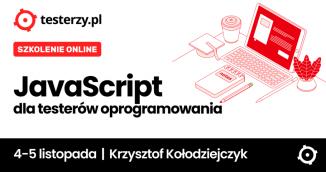 JavaScript dla testerów oprogramowania