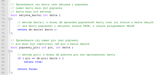 Ćwiczenie z czytelności kodu w C++