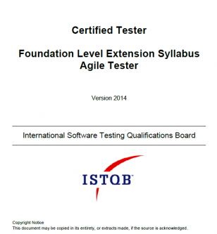 Sylabus ISTQB Agile Tester [EN]