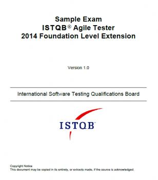 Przykładowy egzamin dla ISTQB Agile Tester [EN]