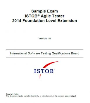 Przykładowy egzamin - odpowiedzi dla ISTQB Agile Tester - [EN]