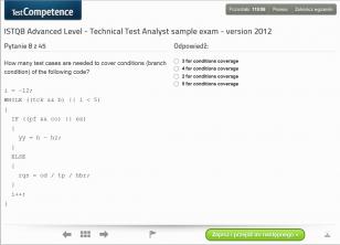 Egzaminy próbne dla egzaminu ISTQB Advanced Level Technical Test Analyst wersja 2012