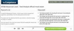 Oficjalne pytania próbne dla egzaminu ISTQB Advanced Level Test Analyst