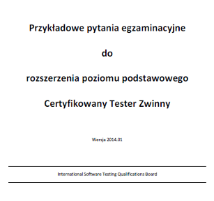 Przykładowe pytania egzaminacyjne - Certyfikowany Tester Zwinny