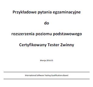 Przykładowe pytania egzaminacyjne - Certyfikowany Tester Zwinny [PL]