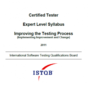 Sylabus ISTQB Expert Level Improving the Testing Process