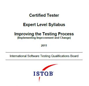 Sylabus ISTQB Expert Level Improving the Testing Process