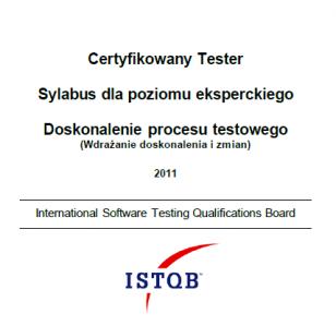 Sylabus ISTQB Poziom Ekspercki - Doskonalenie Procesu Testowego
