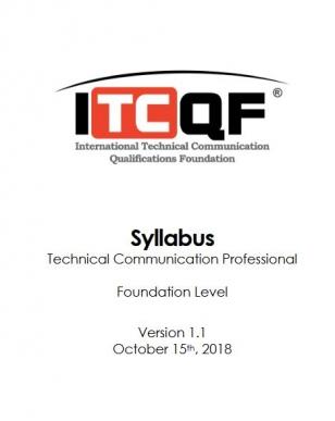 Sylabus ITCQF Technical Communication Professional Foundation Level (EN)