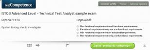 Egzaminy próbne dla egzaminu ISTQB Poziom Zaawansowany Techniczny Analityk Testów