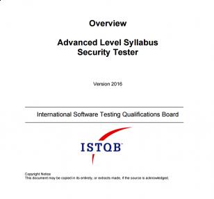 Opis szkolenia ISTQB® Advanced Level Security Tester