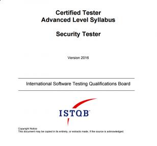 Sylabus ISTQB Advanced Level Security Tester [EN]