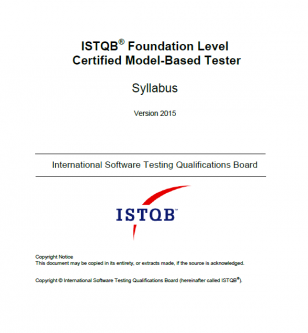 Sylabus ISTQB Model-Based Tester [EN]