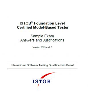 Przykładowy egzamin ISTQB Model-Based Tester - ODPOWIEDZI