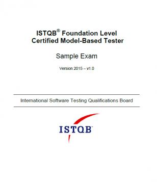 Przykładowy egzamin ISTQB Model-Based Tester