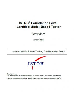 Opis szkolenia ISTQB Model-Based Tester