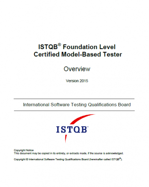 Opis szkolenia ISTQB® Model-Based Tester