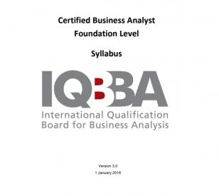 Sylabus IQBBA Foundation Level