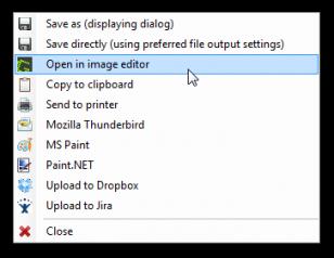 Greenshot - narzędzie do zrzutów ekranu