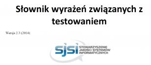 Słownik terminów testowych ISTQB