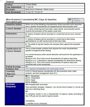 Pytania przykładowe do egzaminu ISTQB Foundation Level 2011. Część 7.