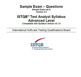 Przykładowy egzamin ISTQB Advanced Level - Test Analyst
