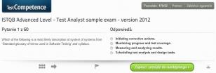 Egzaminy próbne dla egzaminu ISTQB Advanced Level Test Analyst