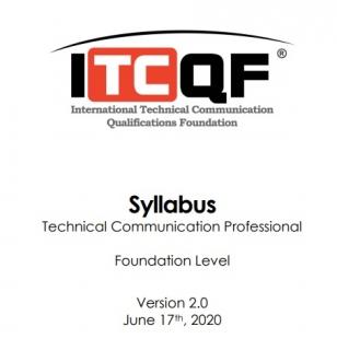 Sylabus ITCQF Technical Communication Professional Foundation Level (EN) wersja 2.0