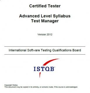 Sylabus ISTQB Advanced Level Test Manager [EN]