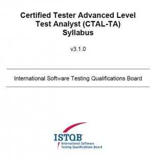 Sylabus ISTQB Advanced Level Test Analyst [EN]