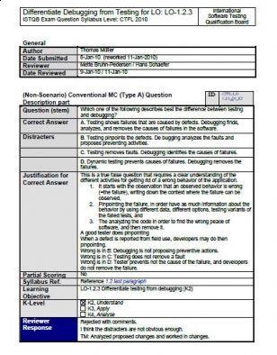 Pytania przykładowe do egzaminu ISTQB® Foundation Level 2011. Część 2.