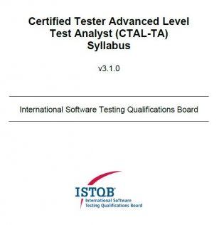 Sylabus ISTQB® Advanced Level Test Analyst [EN]